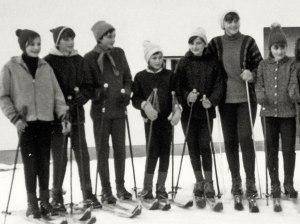 1967 Žilce - smučarski tečaj