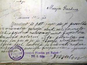 1BProsnja za ponovni obrtni list 1924_priloga